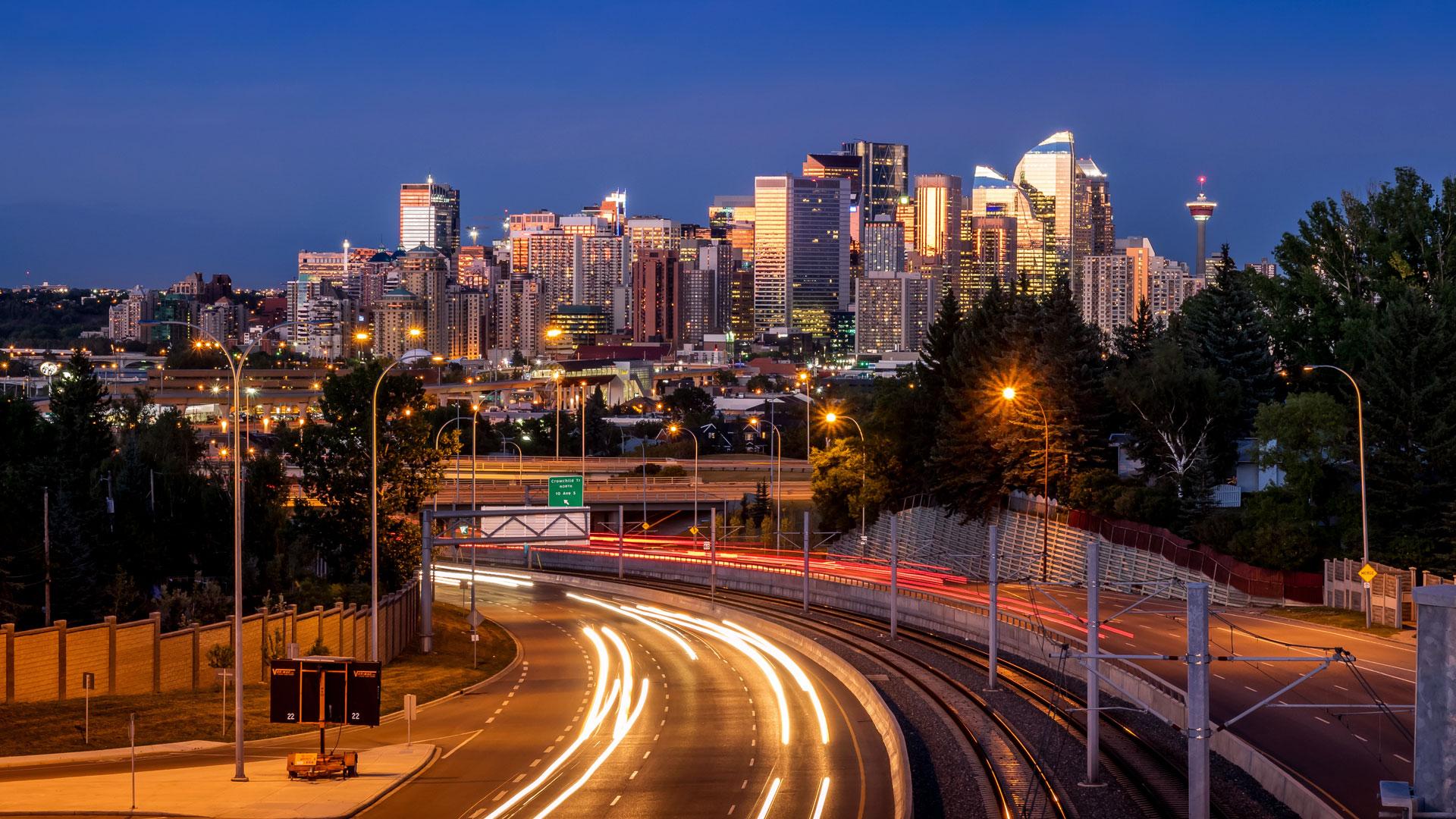 Calgary City scape